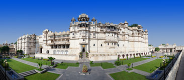 Udaipur City Palace. In Rajasthan is one of the major tourist attractions in India Royalty Free Stock Photos