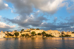 Udaipur city Palace in Rajasthan Royalty Free Stock Photo