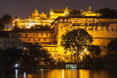 Udaipur City Palace. In Rajasthan is one of the major tourist attractions in India Stock Photography
