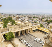 Udaipur City View from City Palace, Udaipur. Rajasthan, India Stock Photography