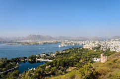 Udaipur City View Stock Image