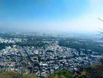 Udaipur City view, Rajasthan, India royalty free stock photos