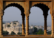 Udaipur Fort. The mogul fort of Udaipur in Rajasthan, NW-India Royalty Free Stock Image