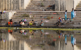 Udaipur Ghats 2 Fotografie Stock Libere da Diritti