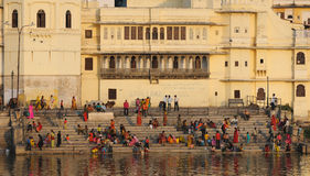 Udaipur Ghats 3 Stock Photography