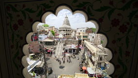 UDAIPUR, INDIA - APRIL, 2013: Everyday city scene stock video