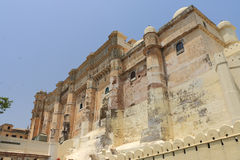 Udaipur kungligt fort rajasthan Indien Royaltyfri Foto