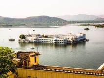 Udaipur Lake Palace Royalty Free Stock Photography