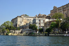 Udaipur and Lake Pichola, Rajasthan,  Royalty Free Stock Images