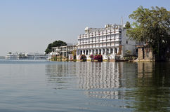 Udaipur and Lake Pichola , Rajasthan, India Stock Photography