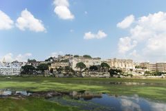 Udaipur Lake. A view of Udaipur Lake in Rajasthan, India Royalty Free Stock Image