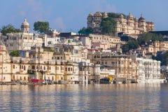 Udaipur miasta pałac Zdjęcie Royalty Free
