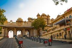 Udaipur miasta pałac indu udaipur Obraz Stock