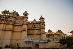Udaipur miasta pałac indu udaipur Fotografia Stock
