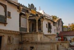 Udaipur miasta pałac indu udaipur Zdjęcia Stock