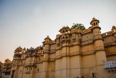 Udaipur miasta pałac indu udaipur Obraz Royalty Free