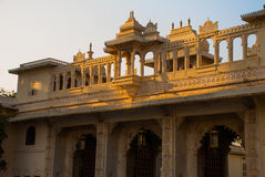 Udaipur miasta pałac indu udaipur Obrazy Stock