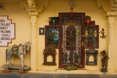 Udaipur miasta pałac indu udaipur Zdjęcie Royalty Free