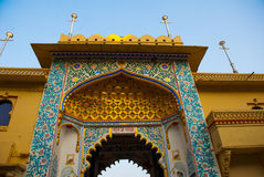 Udaipur miasta pałac indu udaipur Zdjęcia Royalty Free