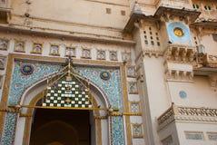 Udaipur miasta pałac indu udaipur Zdjęcie Stock