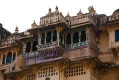 Udaipur miasta pałac indu udaipur Fotografia Royalty Free