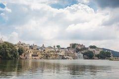 Udaipur miasta pałac w Rajasthan Zdjęcia Royalty Free
