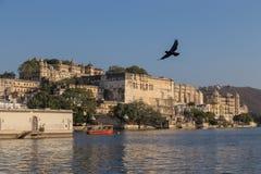 Udaipur miasta pałac w Rajasthan stanie India Obraz Royalty Free