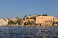 Udaipur miasta pałac w Rajasthan stanie India Zdjęcie Royalty Free