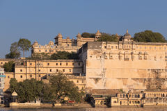 Udaipur miasta pałac w Rajasthan stanie India Zdjęcia Royalty Free