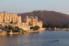 Udaipur miasta pałac w Rajasthan stanie India Fotografia Stock