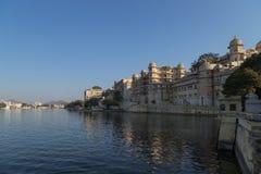 Udaipur miasta pałac w Rajasthan stanie India Zdjęcie Stock