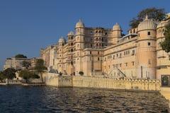 Udaipur miasta pałac w Rajasthan stanie India Fotografia Royalty Free