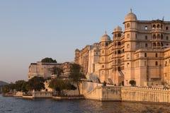 Udaipur miasta pałac w Rajasthan stanie India Obrazy Stock