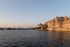 Udaipur miasta pałac w Rajasthan stanie India Obrazy Royalty Free