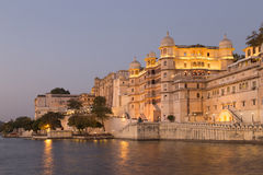 Udaipur miasta pałac w Rajasthan stanie India Zdjęcia Stock