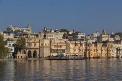 Udaipur miasto w Rajasthan stanie India Obrazy Royalty Free