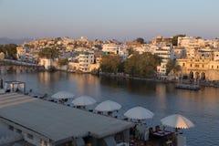 Udaipur miasto w Rajasthan stanie India Zdjęcie Stock