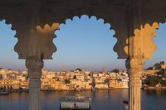 Udaipur miasto w Rajasthan stanie India Zdjęcia Stock