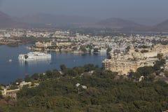 Udaipur miasto w Rajasthan stanie India Obrazy Stock