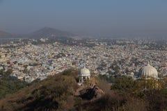 Udaipur miasto w Rajasthan stanie India Fotografia Royalty Free