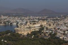 Udaipur miasto w Rajasthan stanie India Fotografia Stock
