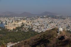 Udaipur miasto w Rajasthan stanie India Zdjęcia Royalty Free