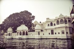 Udaipur-Palast Stockfotos
