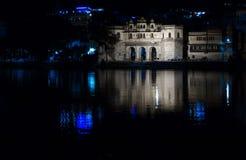 Udaipur Pichola湖 免版税库存图片