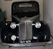 Antique Ford Car/ Cadillac Sedan car/ Rolls Royce car. The collection within the grounds of the Garden Hotel, Udaipur, Rajasthan comprises a variety of classic stock images
