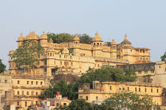 Udaipur regal fort and palace rajasthan india Royalty Free Stock Images
