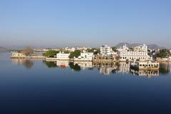 Udaipur-Sonnenaufgang Stockfoto