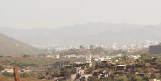 Udaipur stadssikt Arkivbilder
