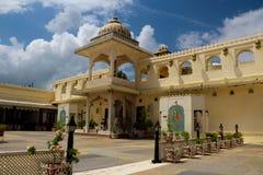 Udaipur stadsslott Royaltyfri Foto