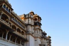 Udaipur-Stadtpalast Rajasthan Indien lizenzfreie stockfotografie